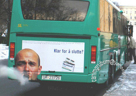 Creative Bus Ad